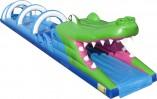 Buikschuifbaan Krokodil 18m