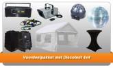 Voordeelpakket met Discotent 4x4