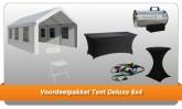 Voordeelpakket met Tent Deluxe 6x4
